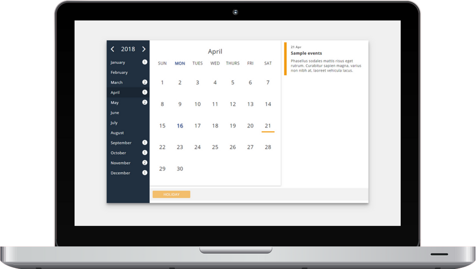 Events calendar for Joomla - No Boss Calendar